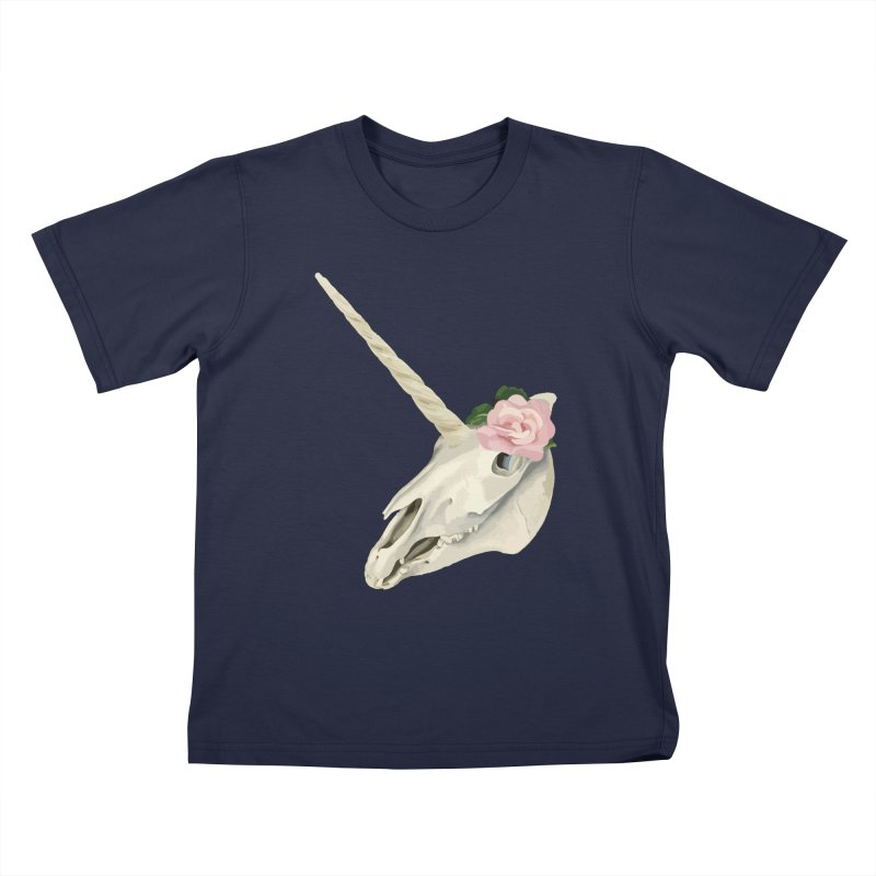 Uni'Keeffe Kids T-Shirt by Inappropriate Wares