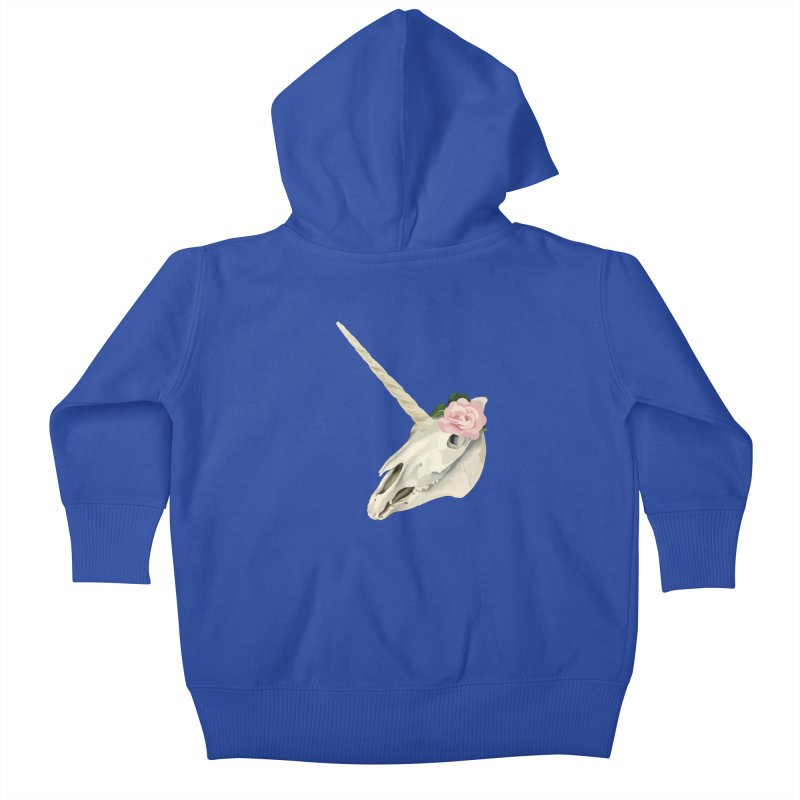 Uni'Keeffe Kids Baby Zip-Up Hoody by Inappropriate Wares