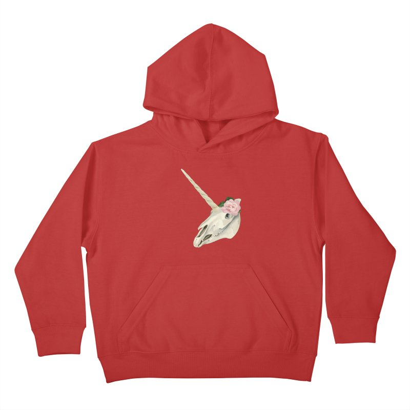 Uni'Keeffe Kids Pullover Hoody by Inappropriate Wares