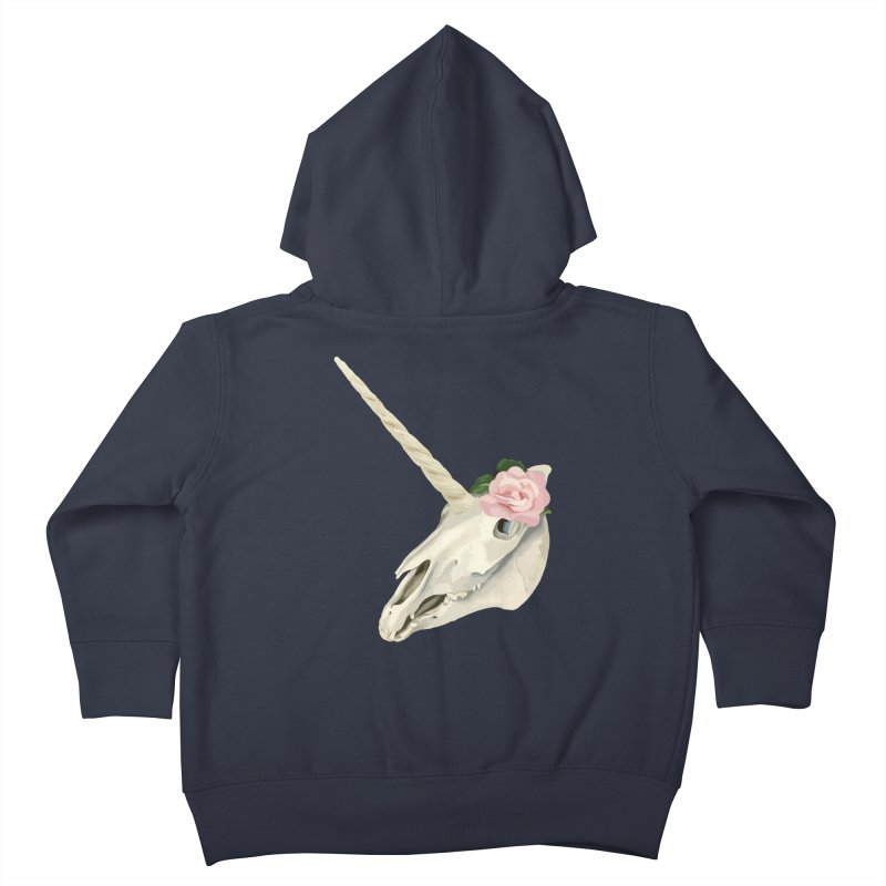 Uni'Keeffe Kids Toddler Zip-Up Hoody by Inappropriate Wares