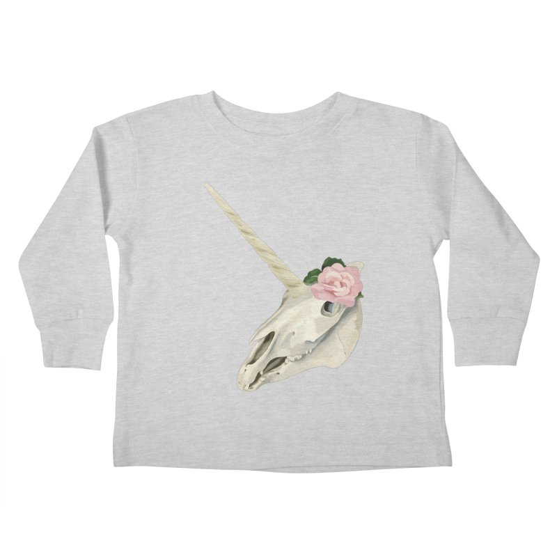 Uni'Keeffe Kids Toddler Longsleeve T-Shirt by Inappropriate Wares
