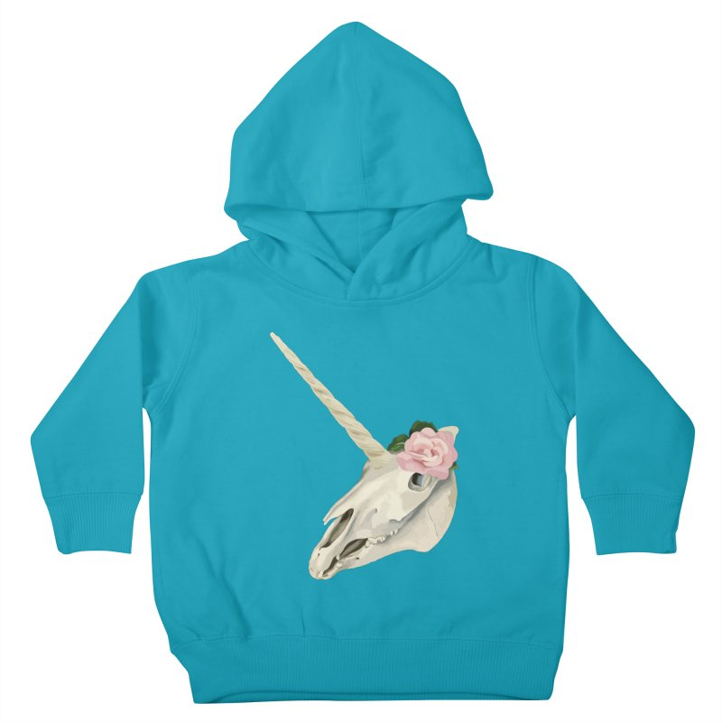 Uni'Keeffe Kids Toddler Pullover Hoody by Inappropriate Wares