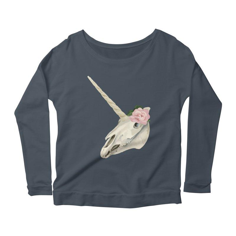 Uni'Keeffe Women's Scoop Neck Longsleeve T-Shirt by Inappropriate Wares