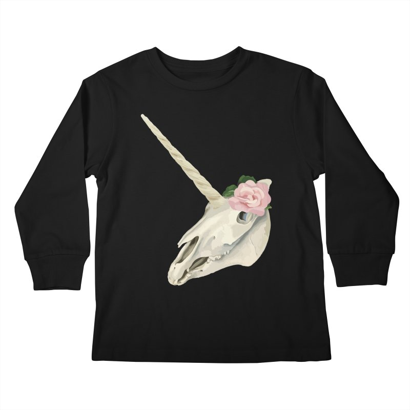 Uni'Keeffe Kids Longsleeve T-Shirt by Inappropriate Wares