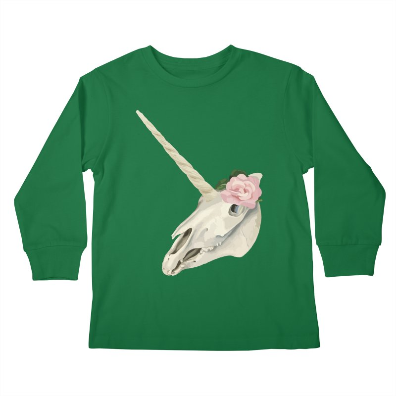 Uni'Keeffe Kids Longsleeve T-Shirt by Inappropriate Wares