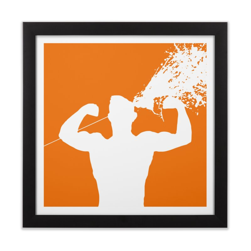 Killer Body Shot Home Framed Fine Art Print by Inappropriate Wares