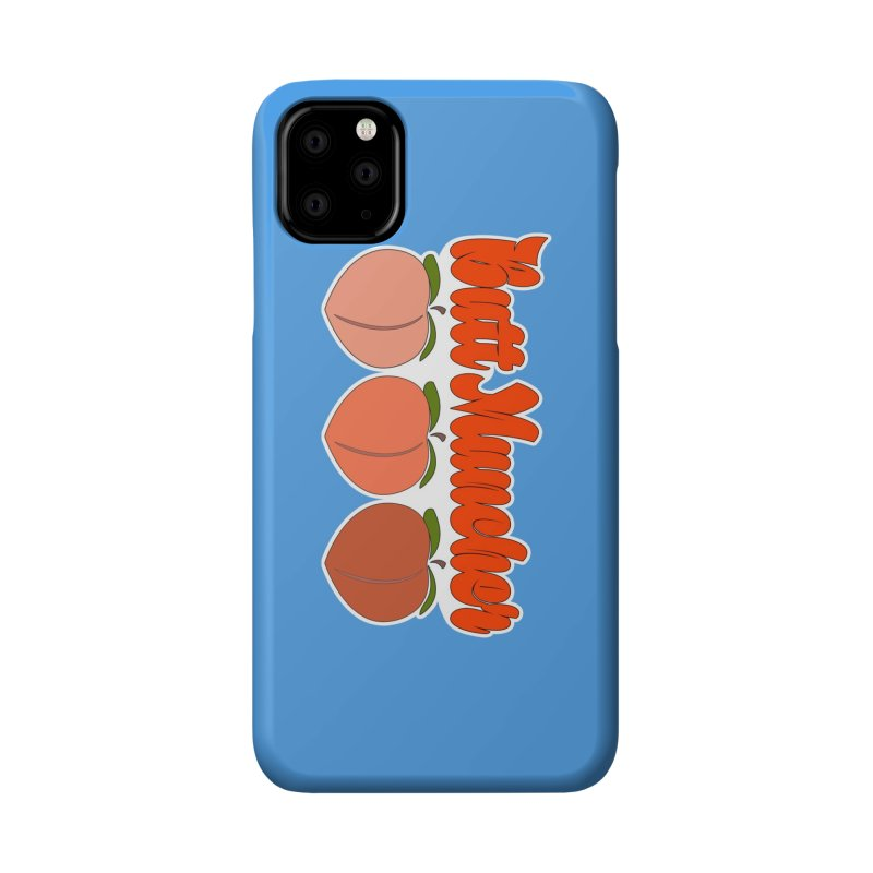 Butt Muncher Accessories Phone Case by Inappropriate Wares