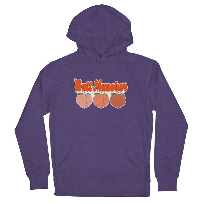 Butt Muncher Women's French Terry Pullover Hoody by Inappropriate Wares