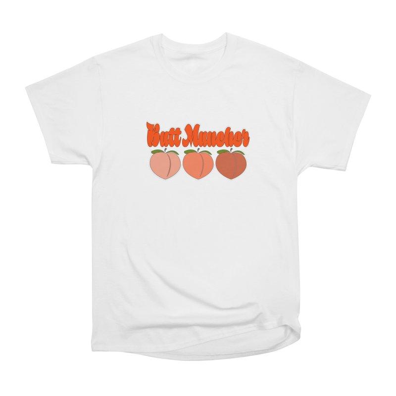 Butt Muncher Men's Heavyweight T-Shirt by Inappropriate Wares