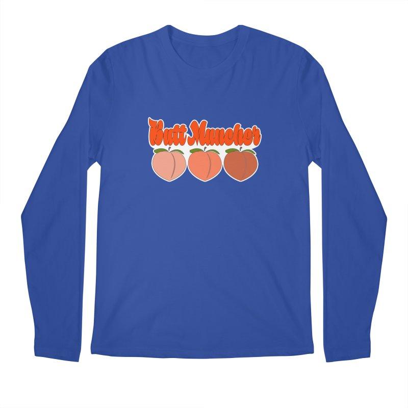 Butt Muncher Men's Regular Longsleeve T-Shirt by Inappropriate Wares