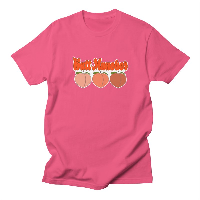Butt Muncher Men's Regular T-Shirt by Inappropriate Wares