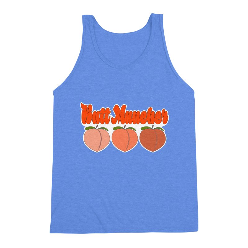 Butt Muncher Men's Triblend Tank by Inappropriate Wares