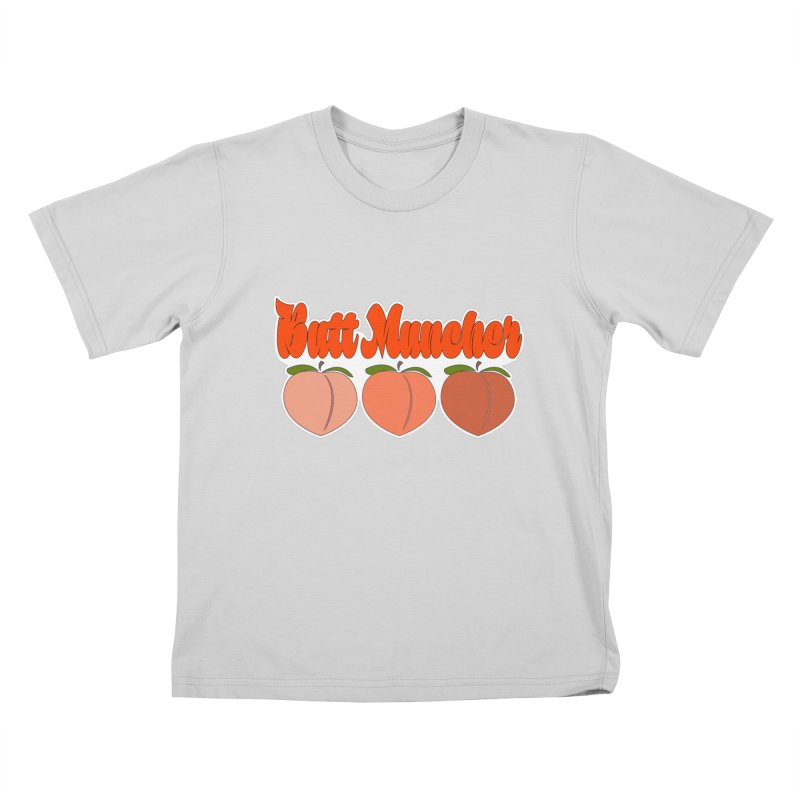Butt Muncher Kids T-Shirt by Inappropriate Wares