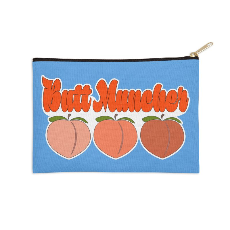 Butt Muncher Accessories Zip Pouch by Inappropriate Wares
