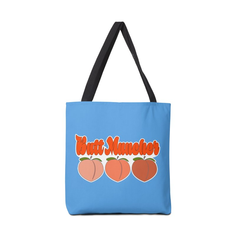 Butt Muncher Accessories Tote Bag Bag by Inappropriate Wares