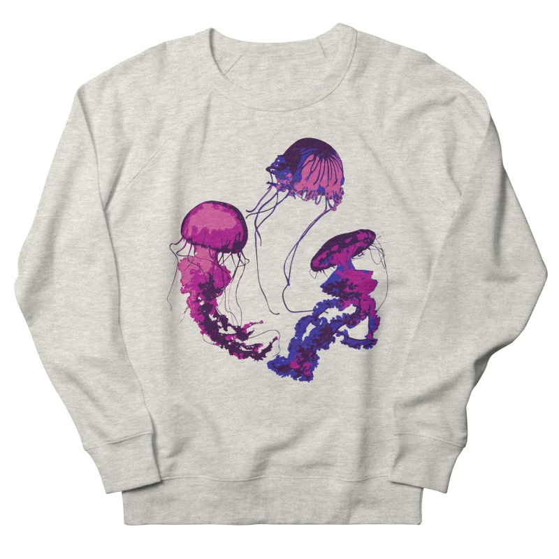 Ring O' Jellyfiish Women's French Terry Sweatshirt by Inappropriate Wares