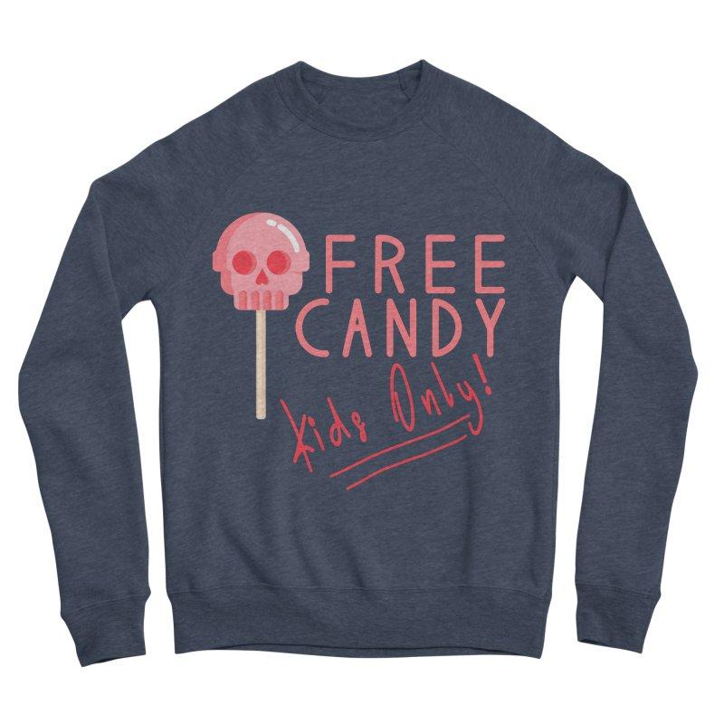 Free Candy Women's Sponge Fleece Sweatshirt by Inappropriate Wares