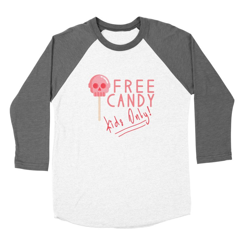 Free Candy Women's Longsleeve T-Shirt by Inappropriate Wares