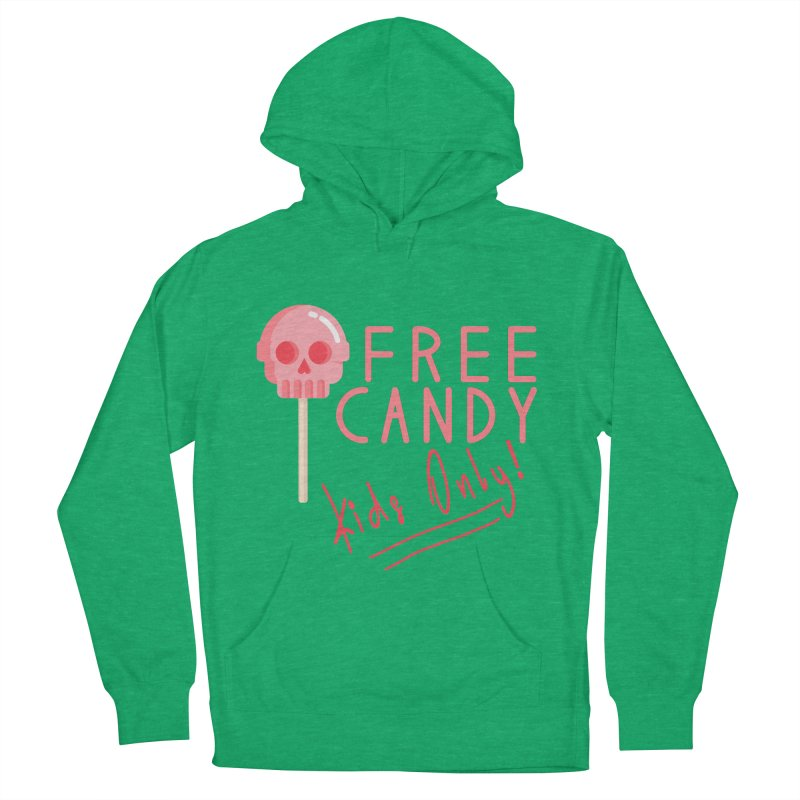 Free Candy Women's French Terry Pullover Hoody by Inappropriate Wares