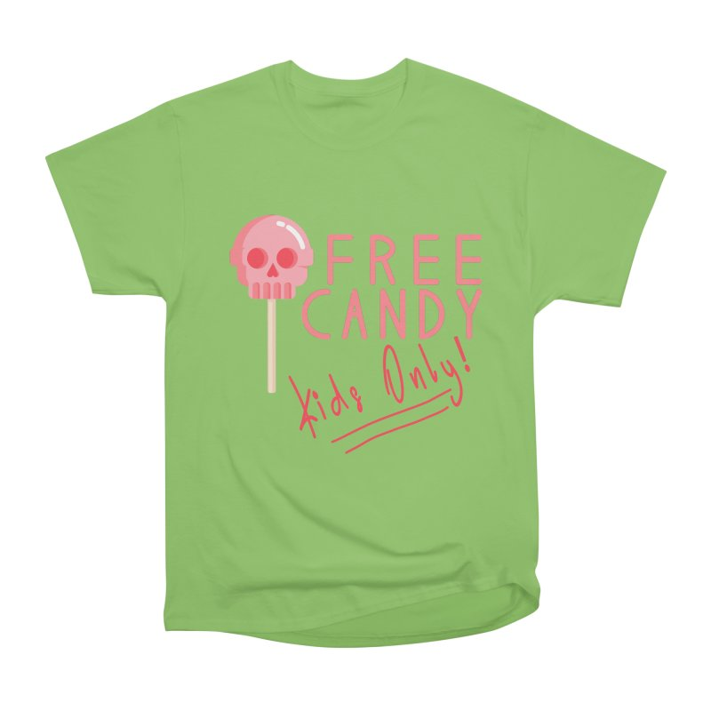 Free Candy Men's Heavyweight T-Shirt by Inappropriate Wares