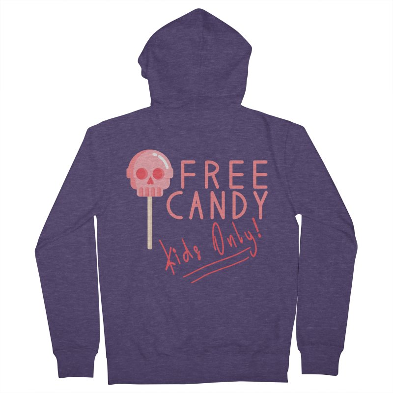 Free Candy Men's Zip-Up Hoody by Inappropriate Wares