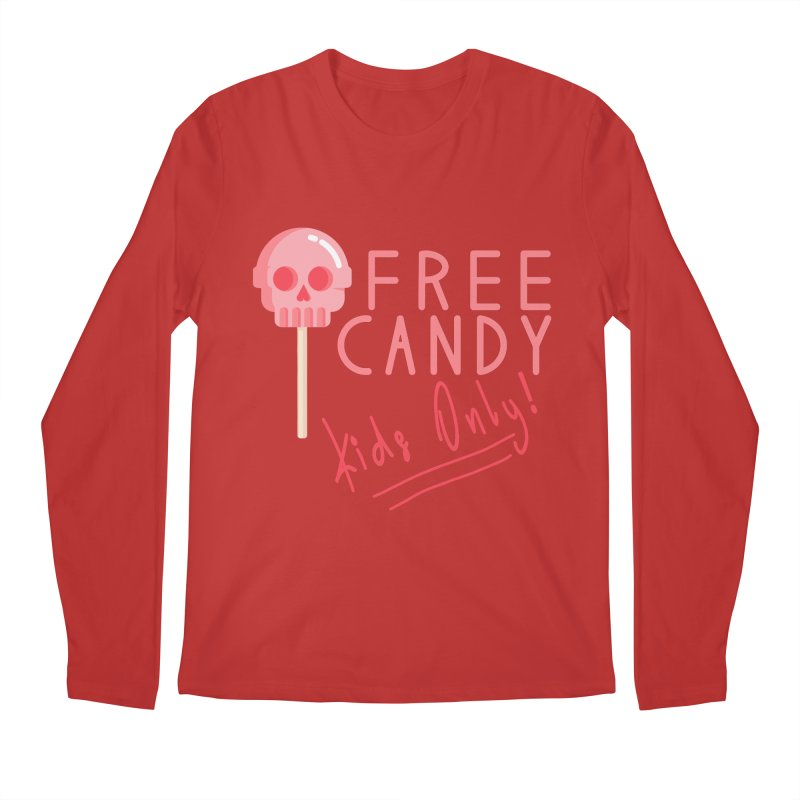 Free Candy Men's Regular Longsleeve T-Shirt by Inappropriate Wares
