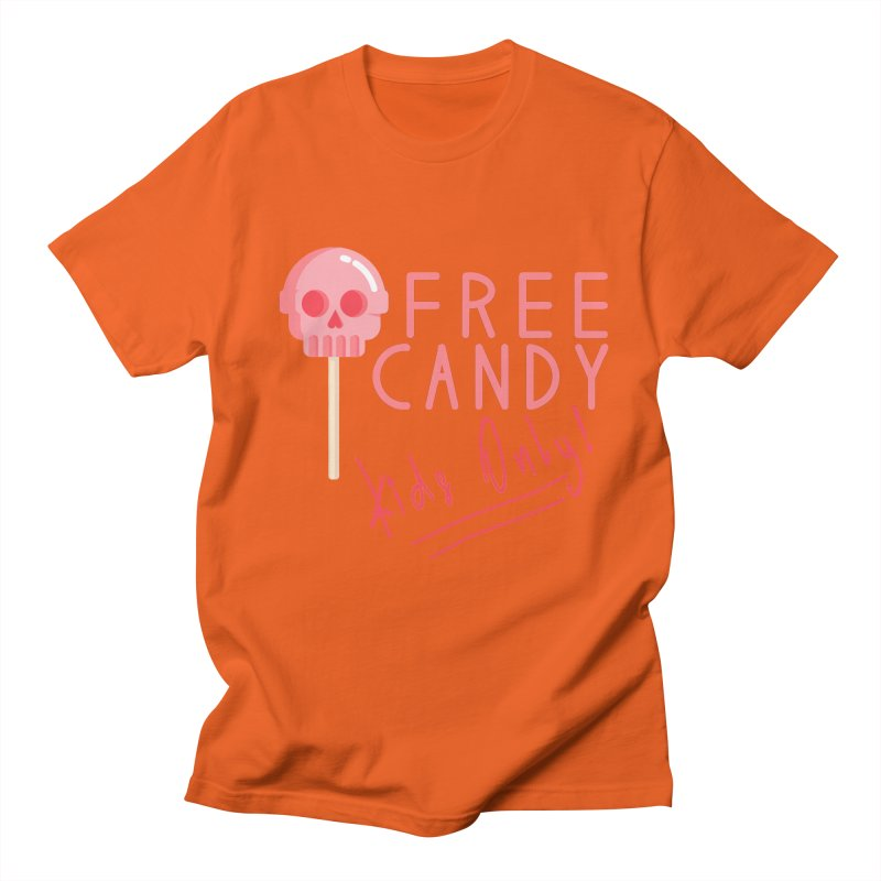 Free Candy Men's Regular T-Shirt by Inappropriate Wares