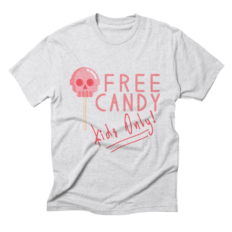 Free Candy Men's Triblend T-Shirt by Inappropriate Wares