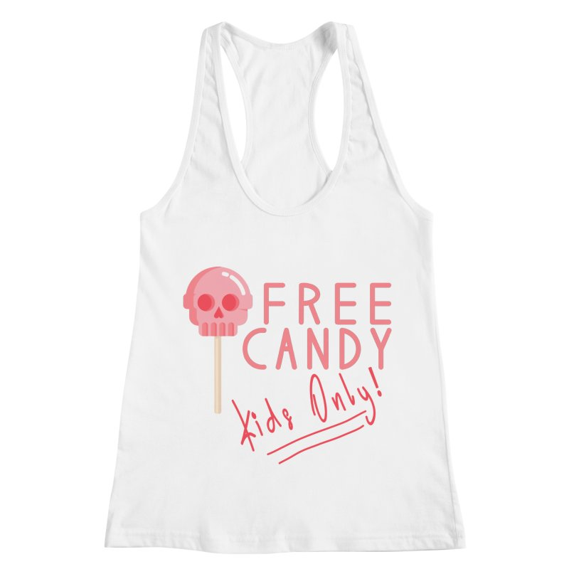 Free Candy Women's Racerback Tank by Inappropriate Wares