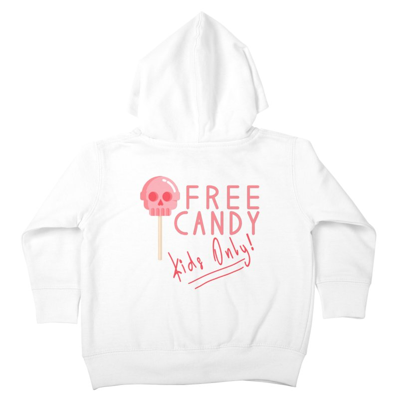 Free Candy Kids Toddler Zip-Up Hoody by Inappropriate Wares