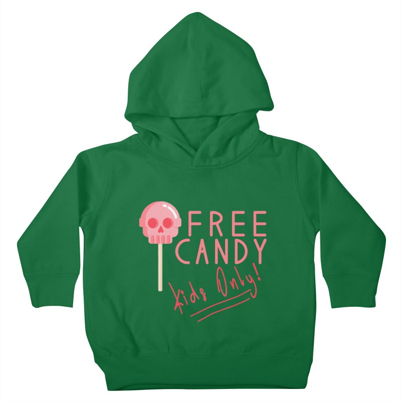 Free Candy Kids Toddler Pullover Hoody by Inappropriate Wares