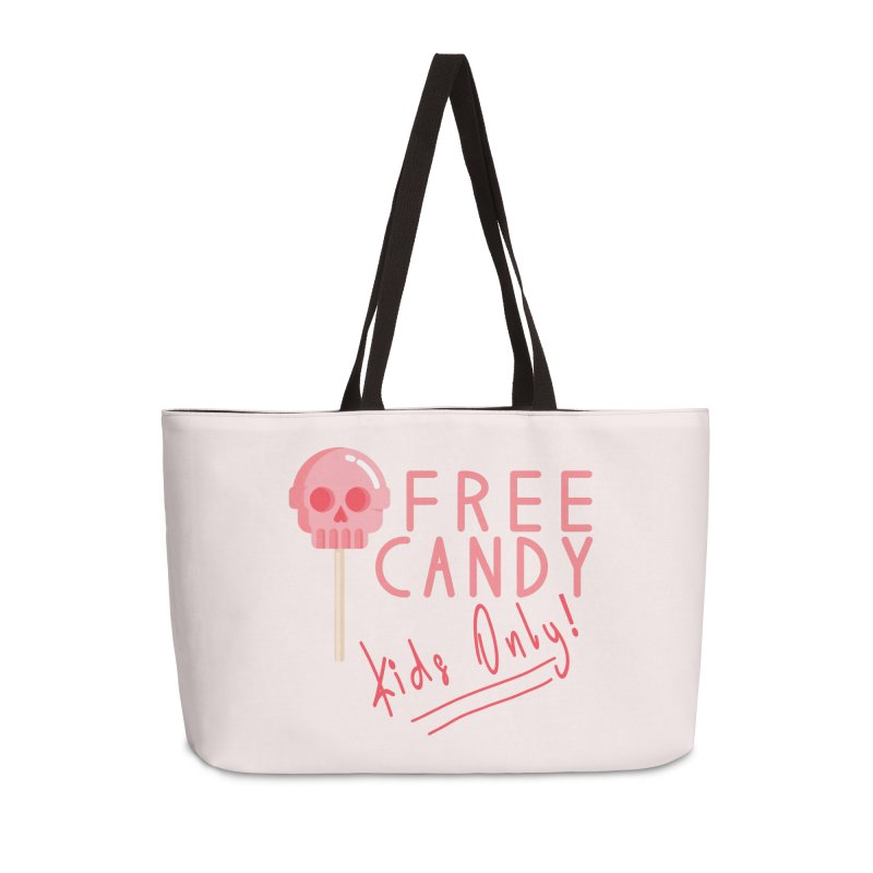 Free Candy Accessories Weekender Bag Bag by Inappropriate Wares
