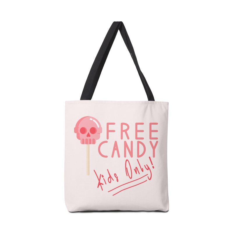 Free Candy Accessories Tote Bag Bag by Inappropriate Wares