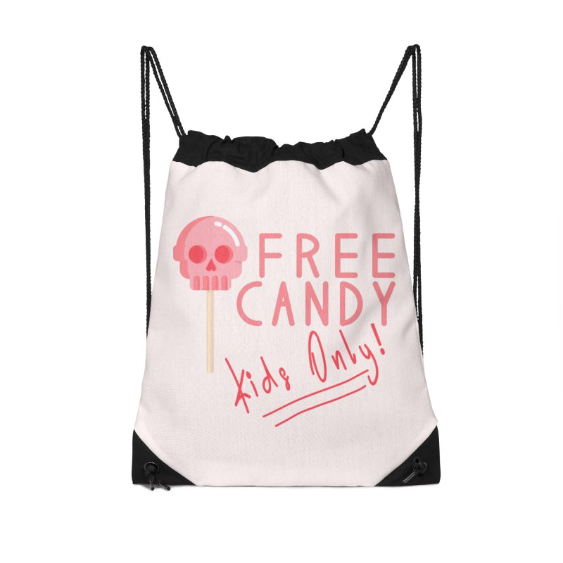 Free Candy Accessories Drawstring Bag Bag by Inappropriate Wares