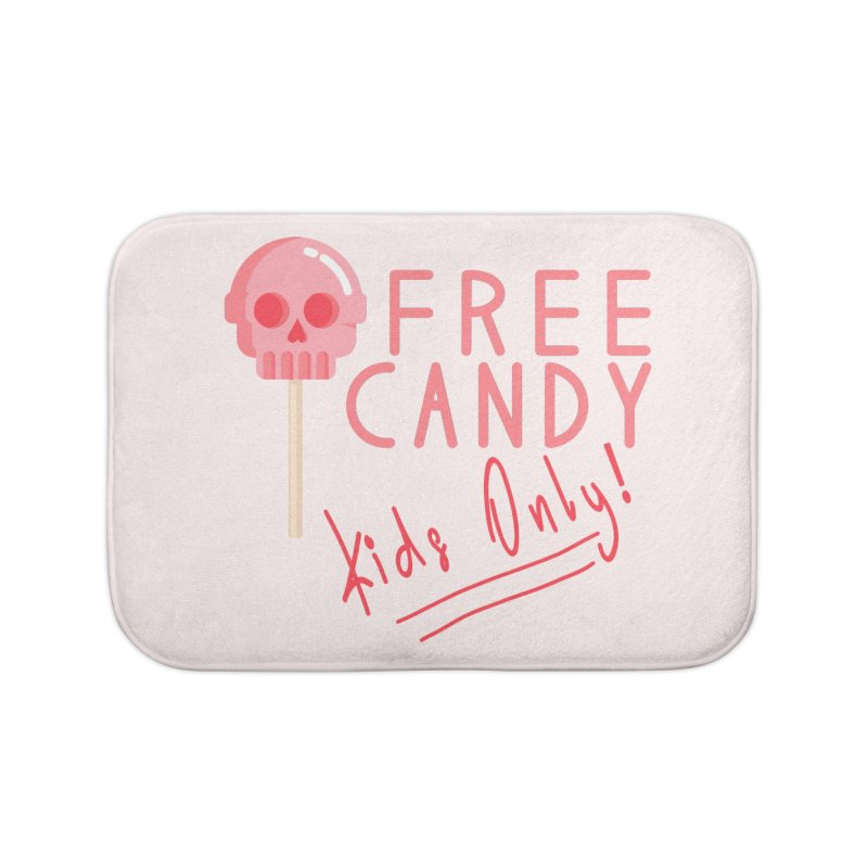 Free Candy Home Bath Mat by Inappropriate Wares