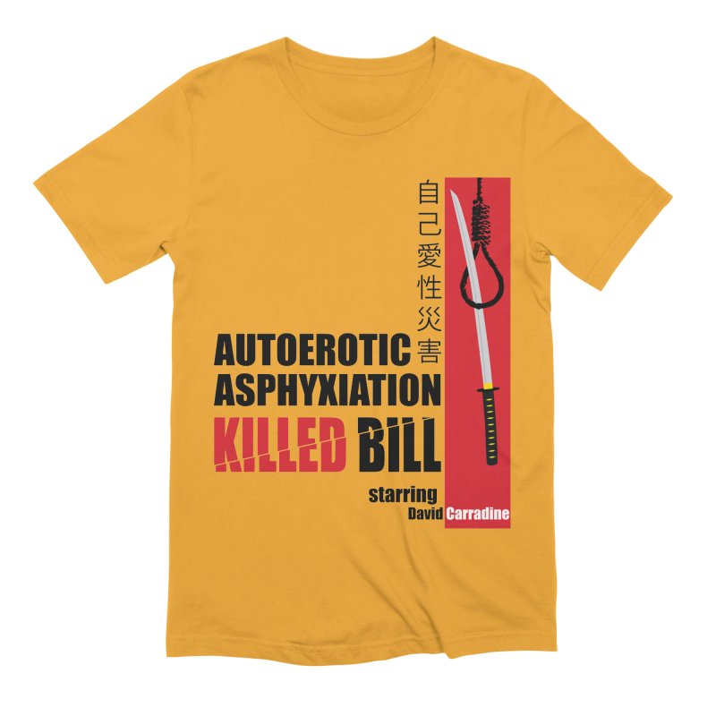 Killed Bill Men's Extra Soft T-Shirt by Inappropriate Wares
