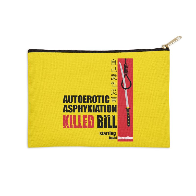 Killed Bill Accessories Zip Pouch by Inappropriate Wares