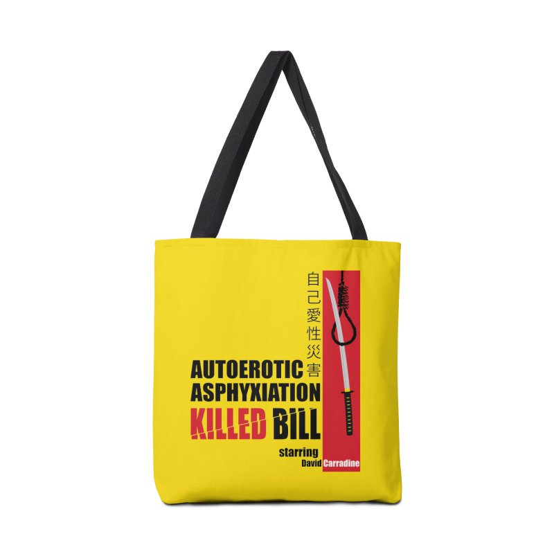Killed Bill Accessories Tote Bag Bag by Inappropriate Wares