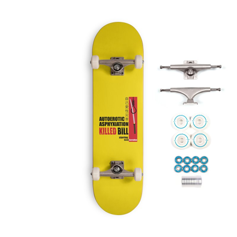Killed Bill Accessories Complete - Basic Skateboard by Inappropriate Wares