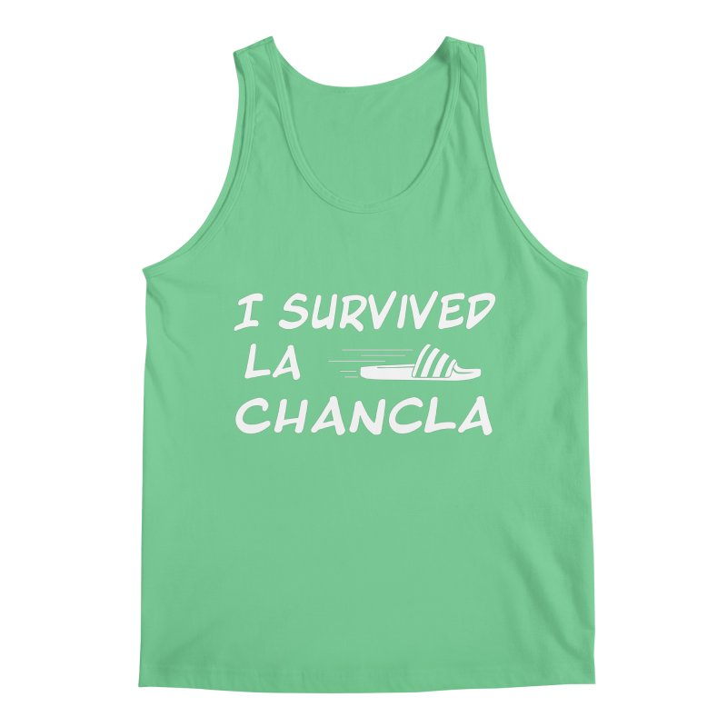 I Survived La Chancla Men's Regular Tank by Inappropriate Wares