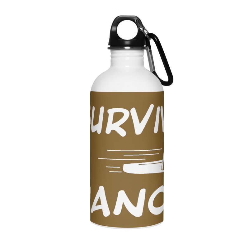 I Survived La Chancla Accessories Water Bottle by Inappropriate Wares