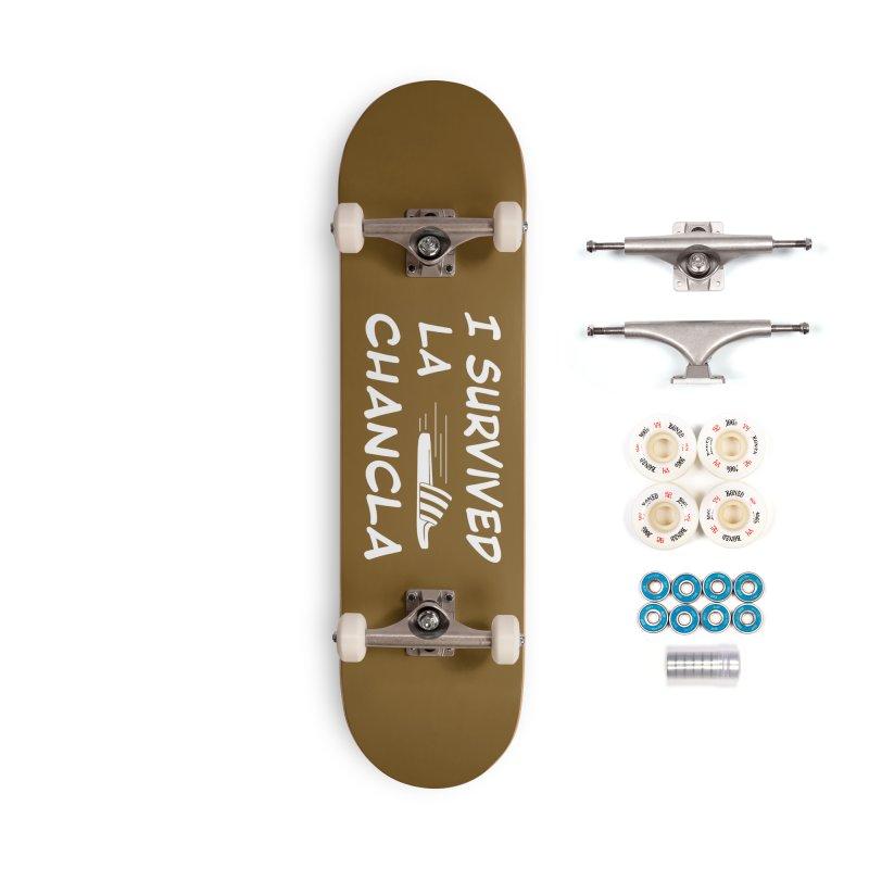 I Survived La Chancla Accessories Complete - Premium Skateboard by Inappropriate Wares