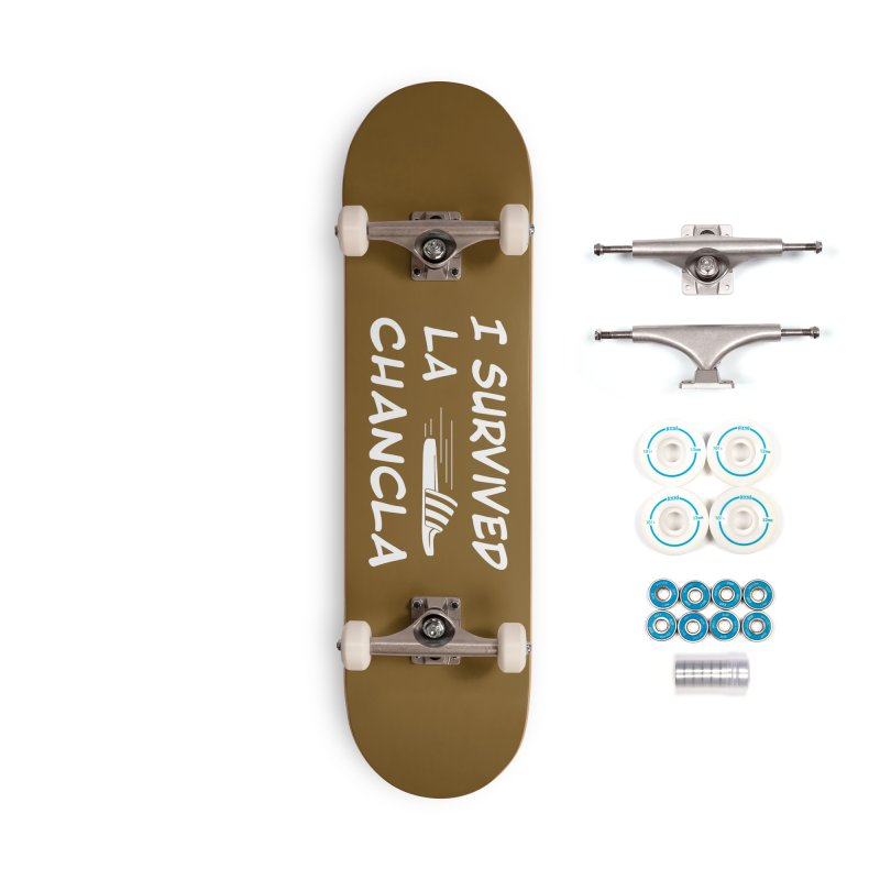I Survived La Chancla Accessories Complete - Basic Skateboard by Inappropriate Wares