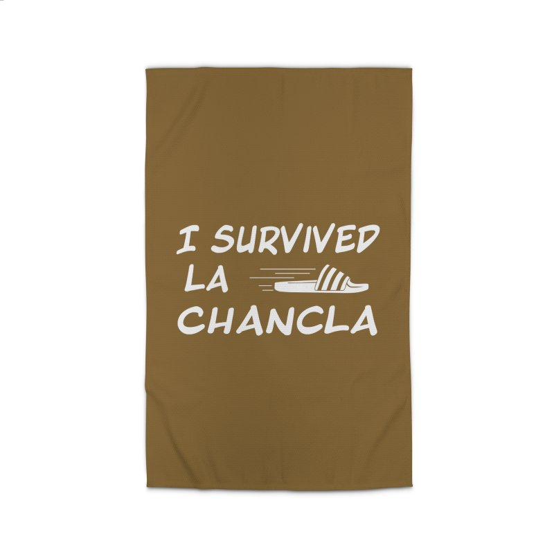 I Survived La Chancla Home Rug by Inappropriate Wares