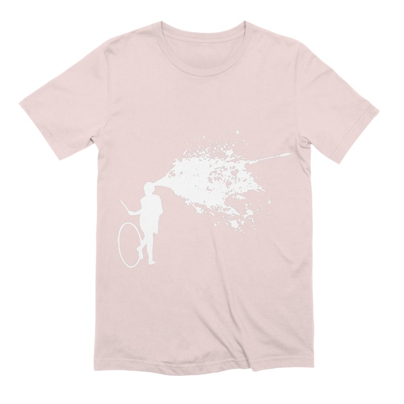Old School Kill - White Men's Extra Soft T-Shirt by Inappropriate Wares