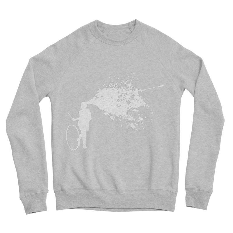 Old School Kill - White Men's Sponge Fleece Sweatshirt by Inappropriate Wares