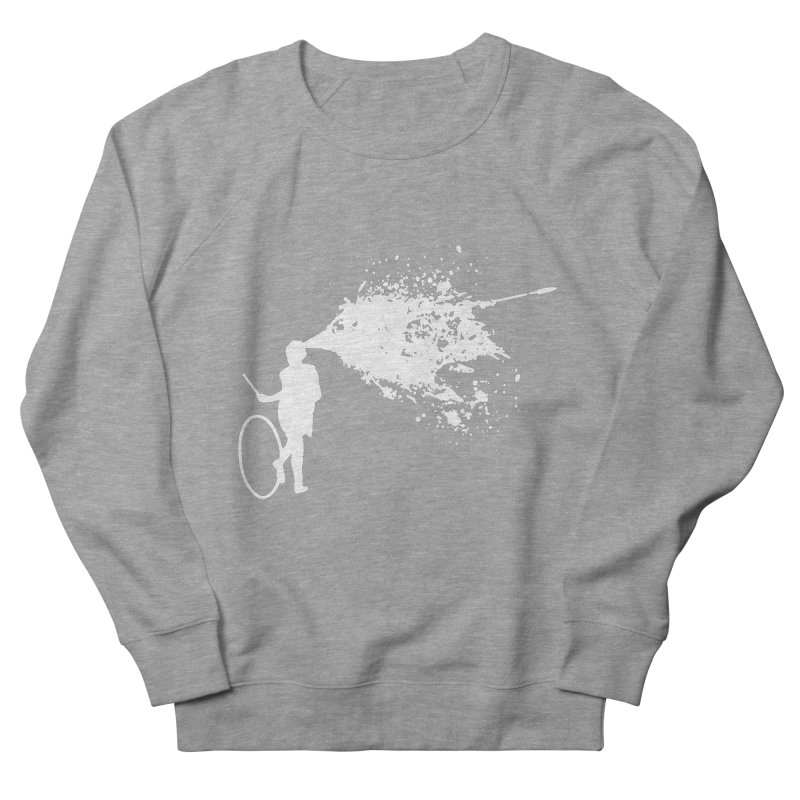 Old School Kill - White Men's French Terry Sweatshirt by Inappropriate Wares