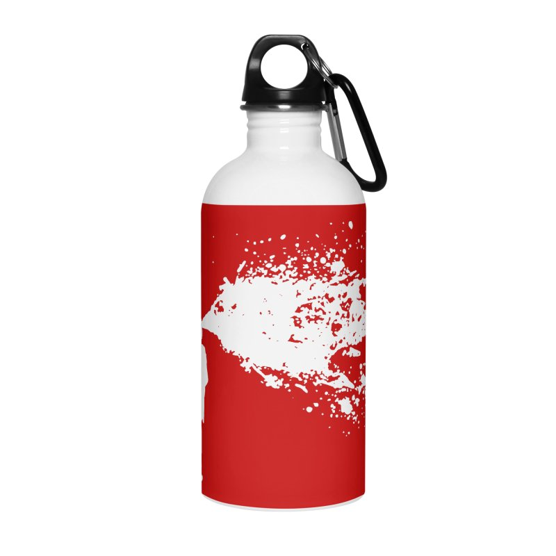 Old School Kill - White Accessories Water Bottle by Inappropriate Wares