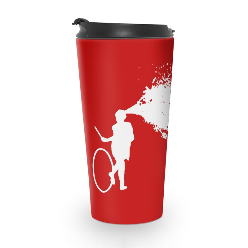 Old School Kill - White Accessories Travel Mug by Inappropriate Wares