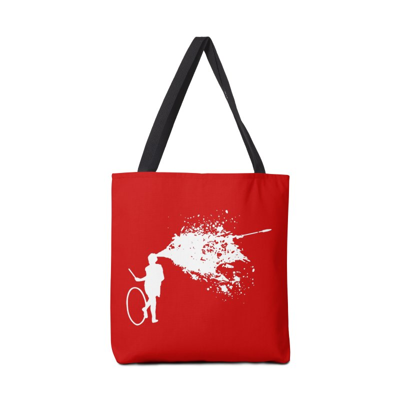 Old School Kill - White Accessories Tote Bag Bag by Inappropriate Wares